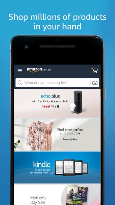 Screenshot for Amazon - Shopping made easy in Jordan App Store