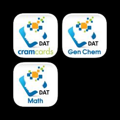 dat cram cards for the dental admission test biology chemistry