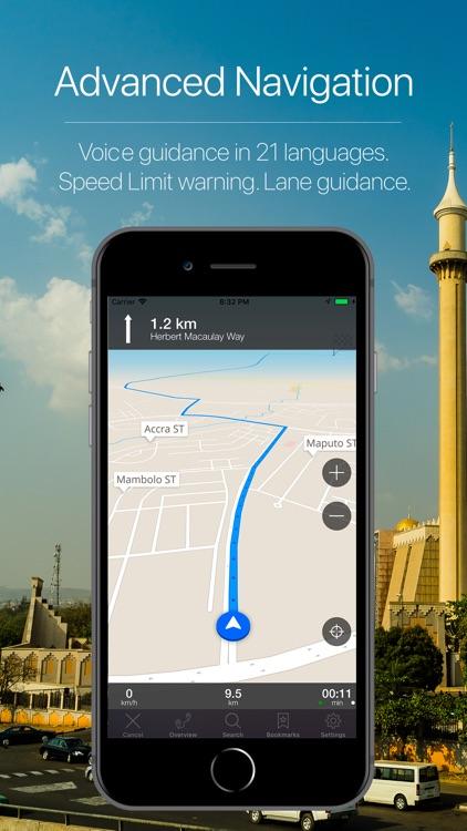 Nigeria Offline Navigation screenshot-3