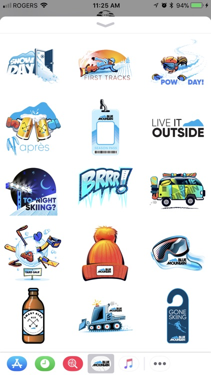Blue Mountain - Sticker Pack