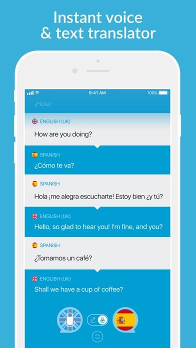 Speak 2 Translate -Live Voice and Text Translator with Speech Screenshot 1