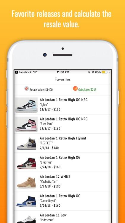 SneakEm' - Sneaker Releases screenshot-8