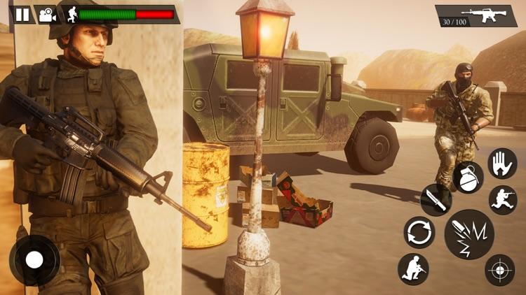 Counter Attack Shooting Games screenshot-4