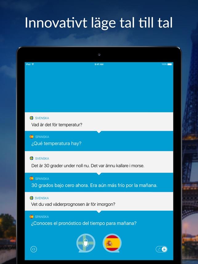 Tala översätt översättare I App Store