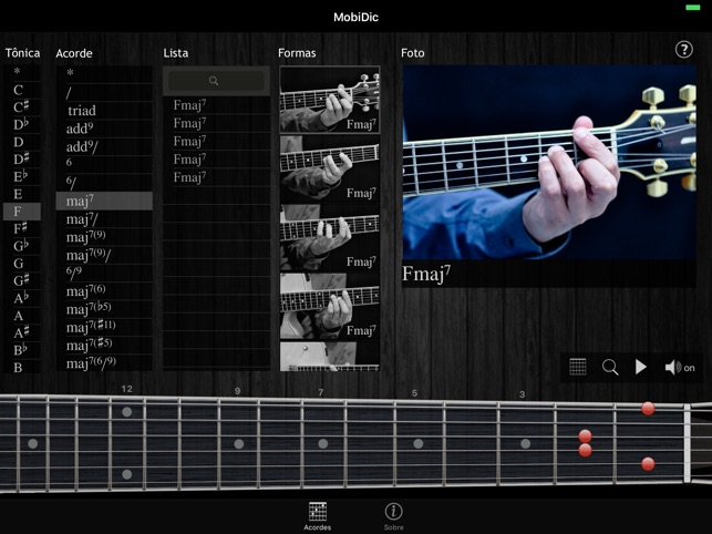 MobiDic Guitar Chords Screenshot