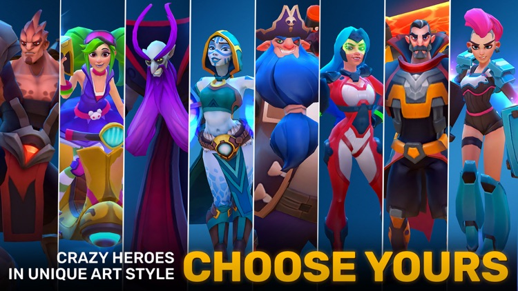 Planet of Heroes - A MOBA Game