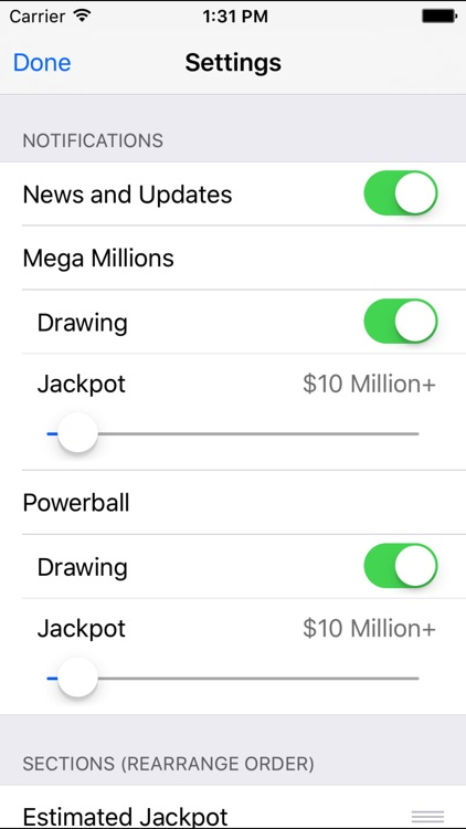 Mega Millions + Powerball screenshot-4