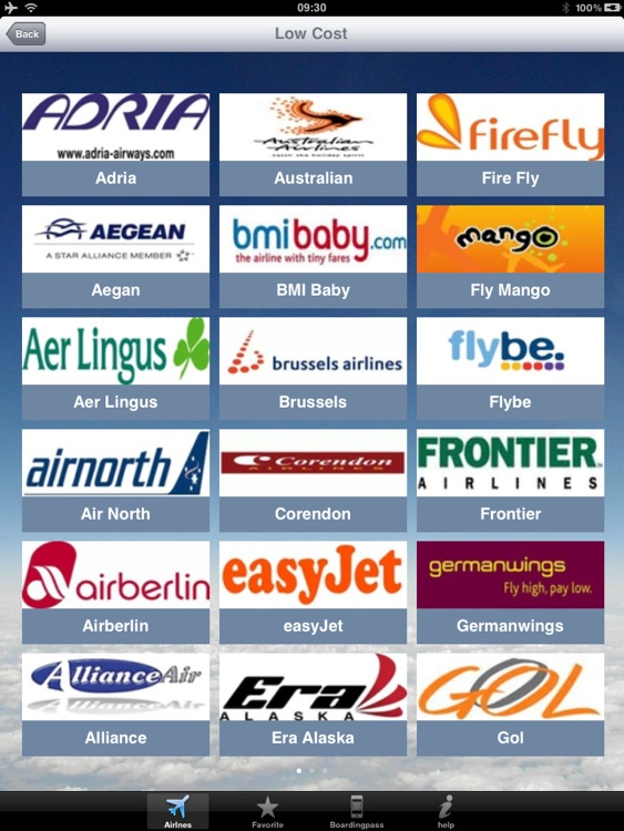 Airline Flight Check-In for the iPad screenshot-3