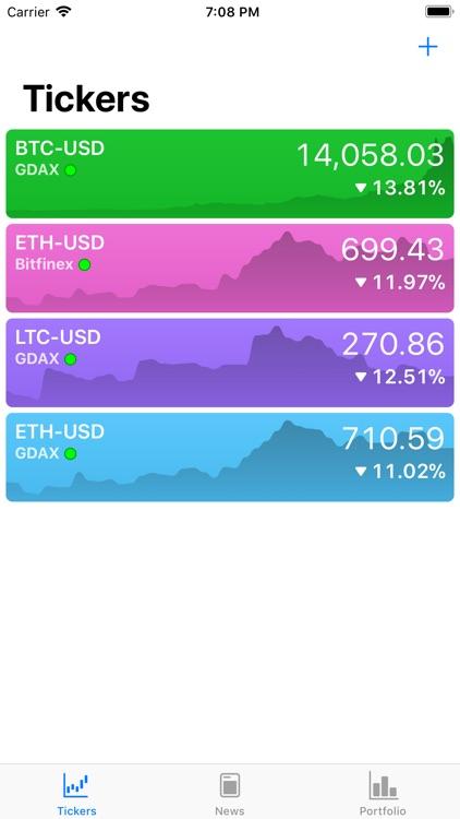 CoinBags - Crypto Dashboard