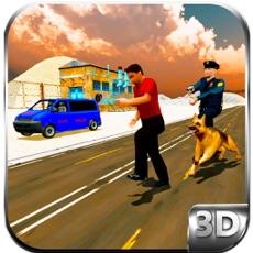 Activities of Police Dog Sniffer Border Patrol & Transport Duty