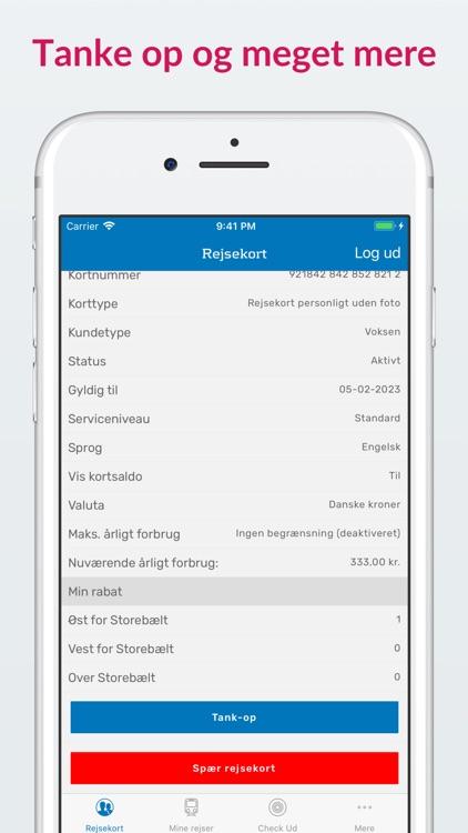 Rejsekort + CheckUd screenshot-3
