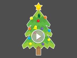 Blinking Christmas Trees