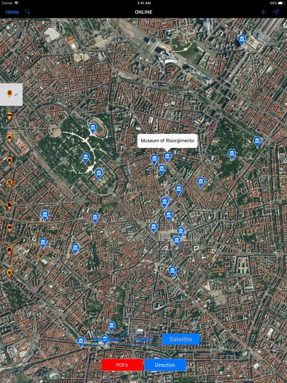 Milan (Italy) - Travel Map   App Price Drops