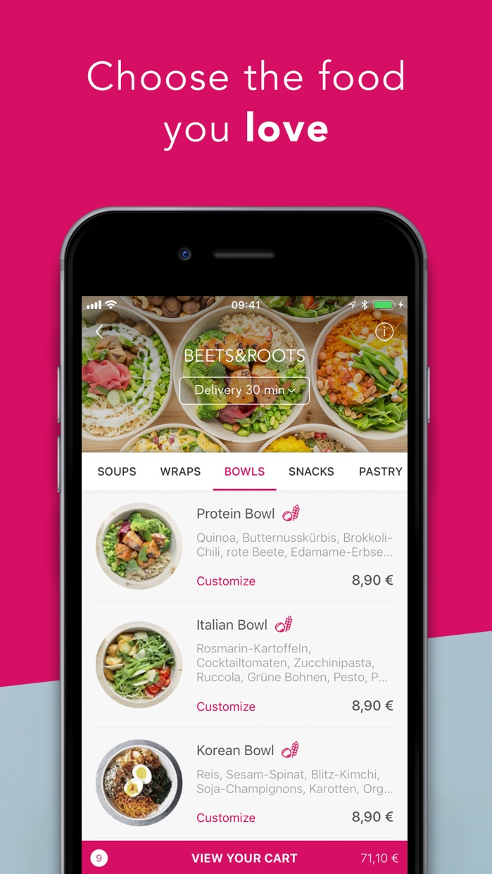 foodora - Local Food Delivery Screenshot