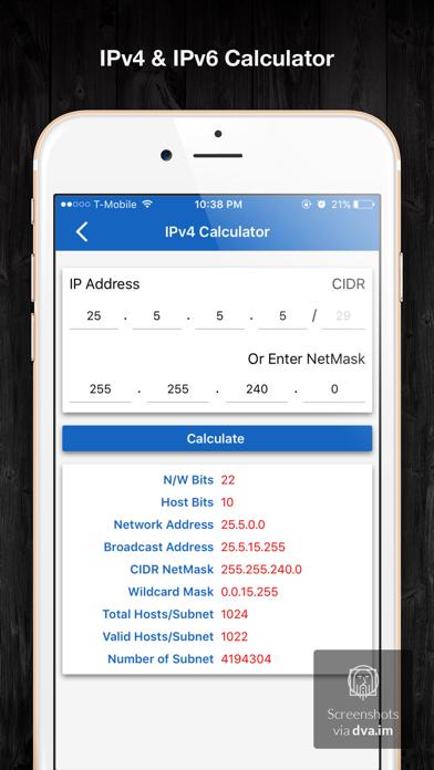 IP & Subnet Calculator screenshot two