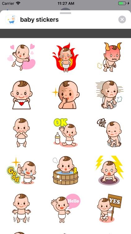 Baby stickers-استكرات بيبي