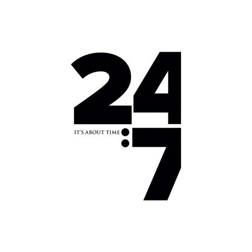 24:7 icon