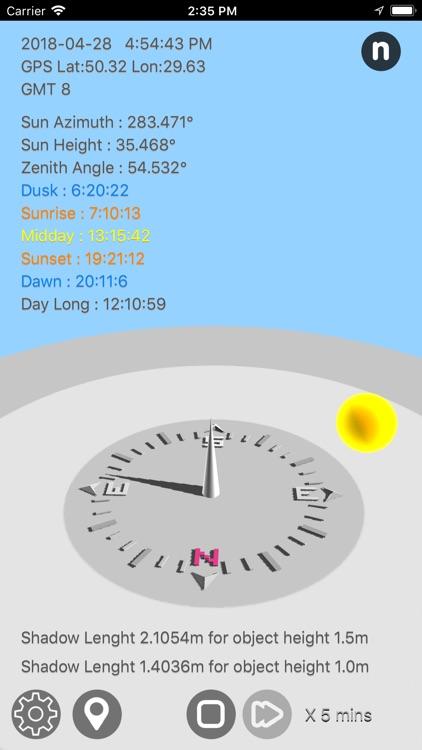 Sun Calculator screenshot-8