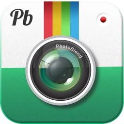 Photoblend photoshop like edit