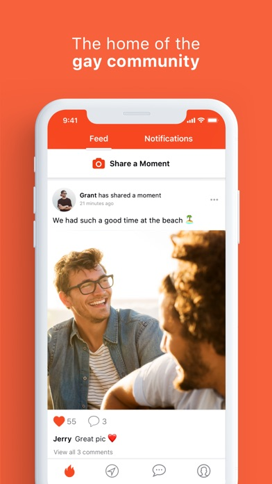 hornet - the gay social network for chat and dating