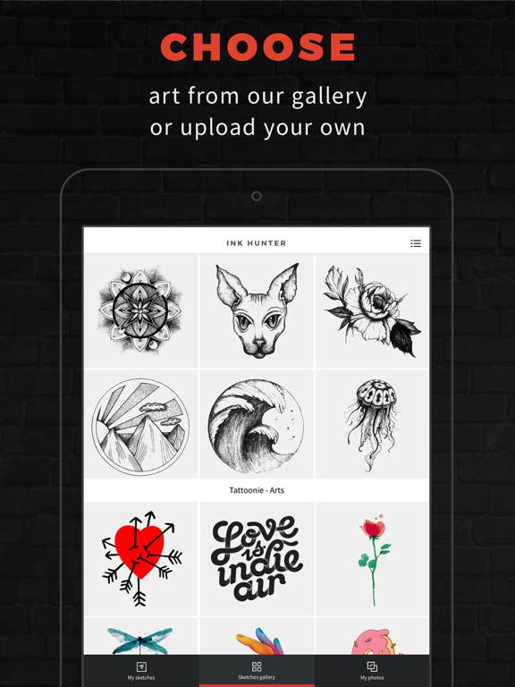 INKHUNTER PRO Tattoos try on screenshot 5
