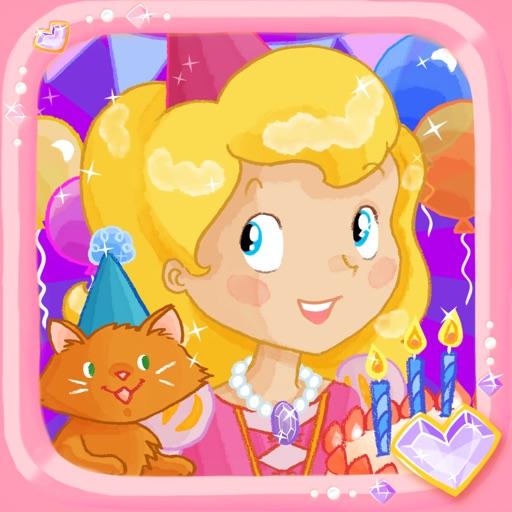 給孩子的公主生日派對拼圖