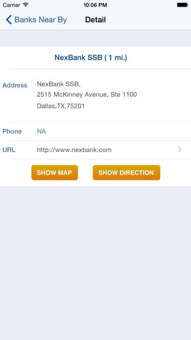 ICBA Community Bank Locator screenshot three