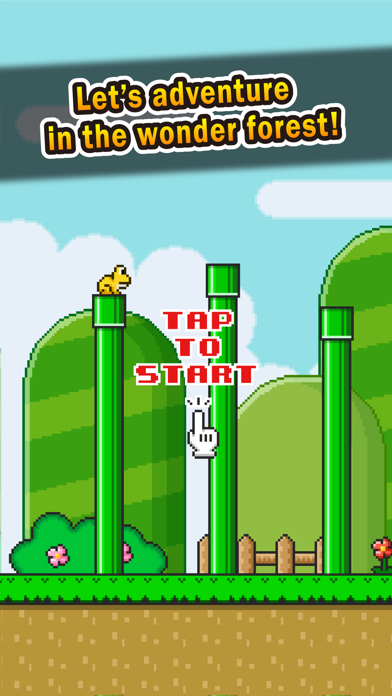 Jumping Frog - pipes adventure - screenshot one