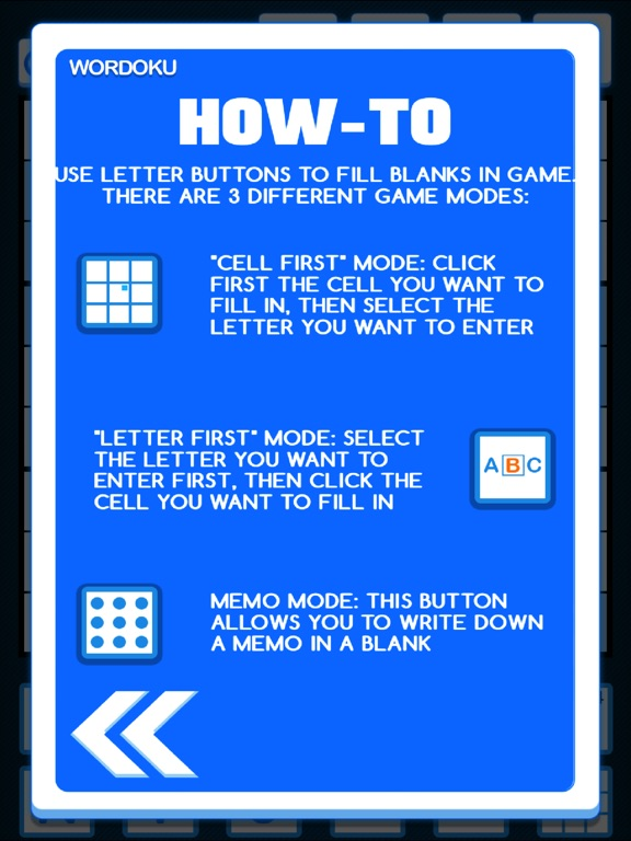 Wordoku ® screenshot 7