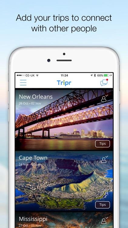 Tripr - the social travel app