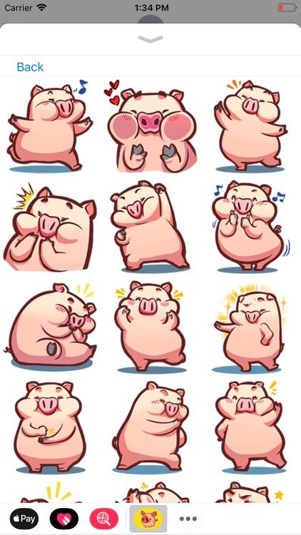 Piggy Stickers Collection screenshot-3