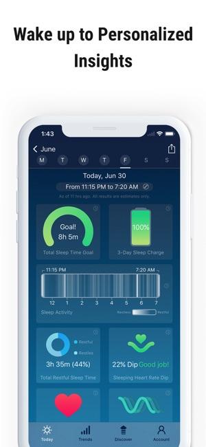 Sleep Watch by Bodymatter Screenshot