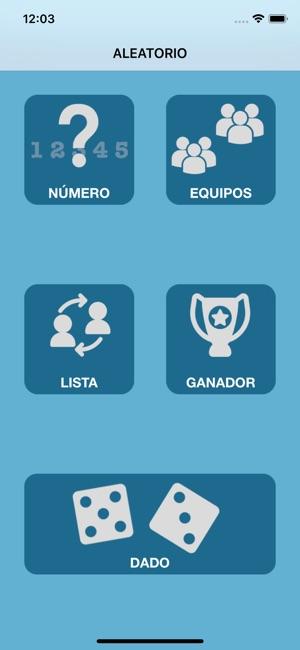 Generador números aleatorios en App Store