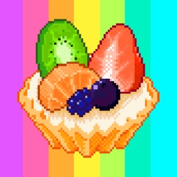 Color by number: Tasty Pixel