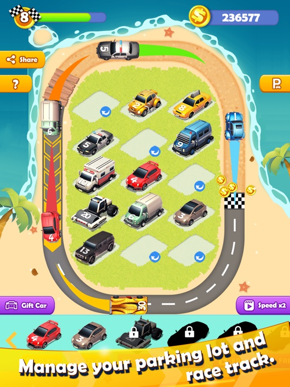 Sports Car Merger для iPad