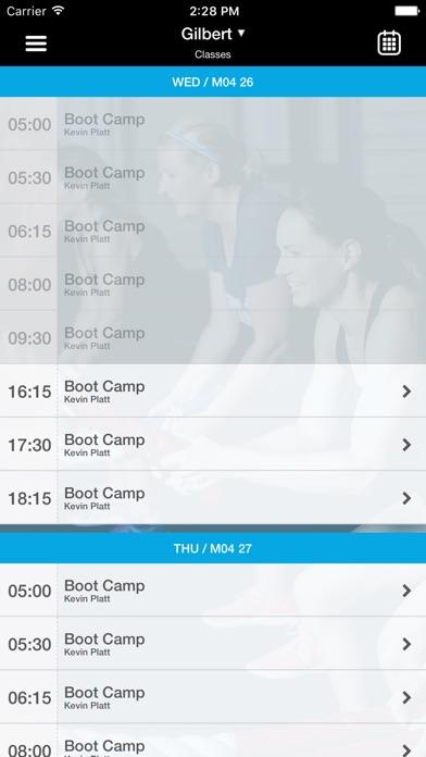 Burn Boot Camp Screenshot