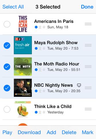 PodCruncher Podcast App screenshot 3