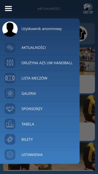 Image of AZS UW Handball Team for iPhone