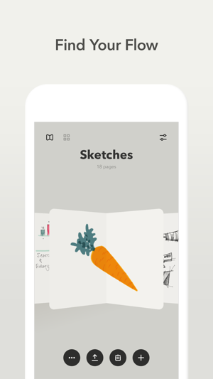Paper — FiftyThree Screenshot