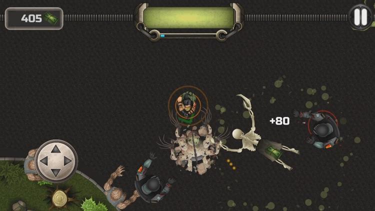 Kelly Faren Battle With Zombie screenshot-4