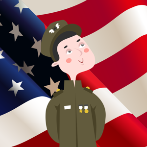 Veterans Day Thank You Sticker app