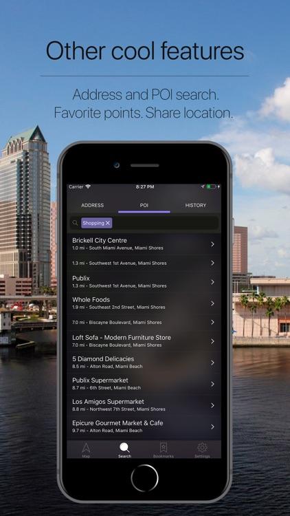 Florida, US Offline Navigation screenshot-4