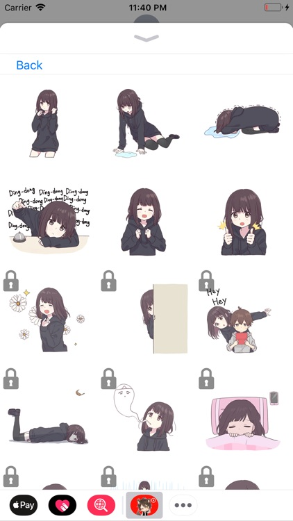 Animated Anime Stickers screenshot-4