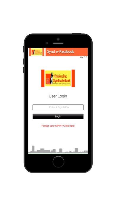 Screenshot for Synd ePassBk in India App Store