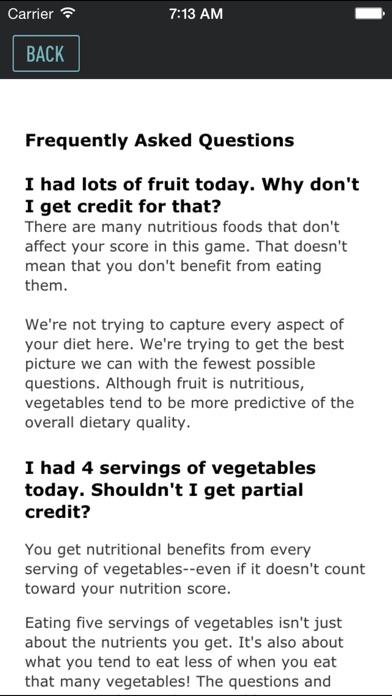 Screenshot #3 for Nutrition GPA