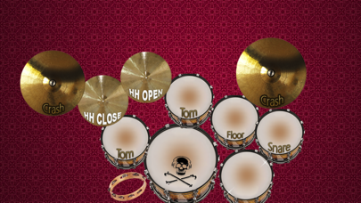 Real Drum Set Pro screenshot one