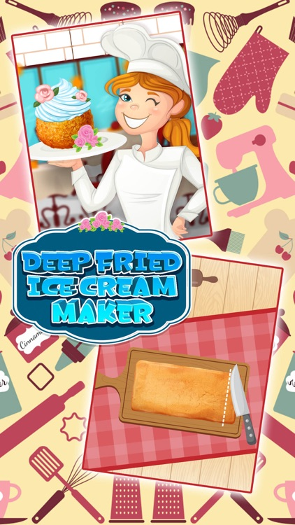Deep Fried Ice Cream Maker