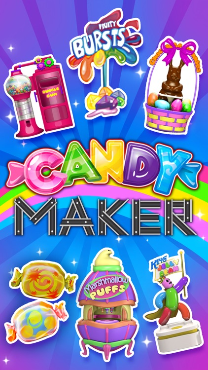 Sweet Candy Maker Games screenshot-0