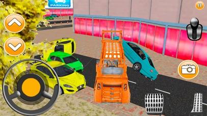 City Car Lifter Parking Game screenshot two