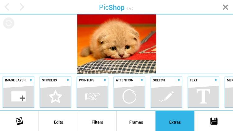 PicShop Lite - Photo Editor screenshot-4